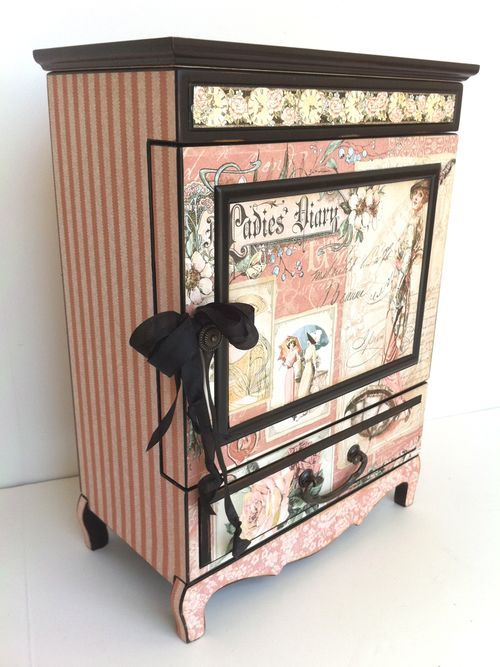 A LADIES' DIARY ALTERED ART & CRAFTS BY GLORIA STENGEL