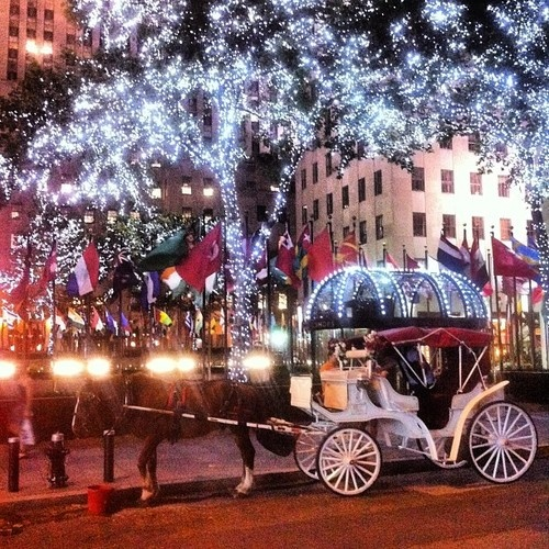 NY At Christmas-I Would Love To Visit NY During The