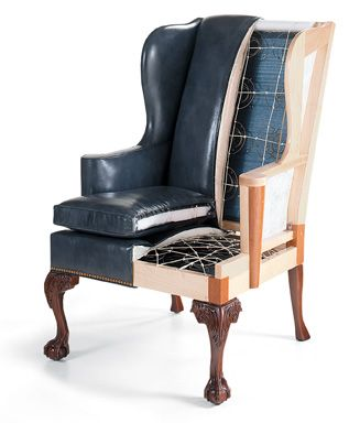 Inner construction of a quality craftsmanship chair