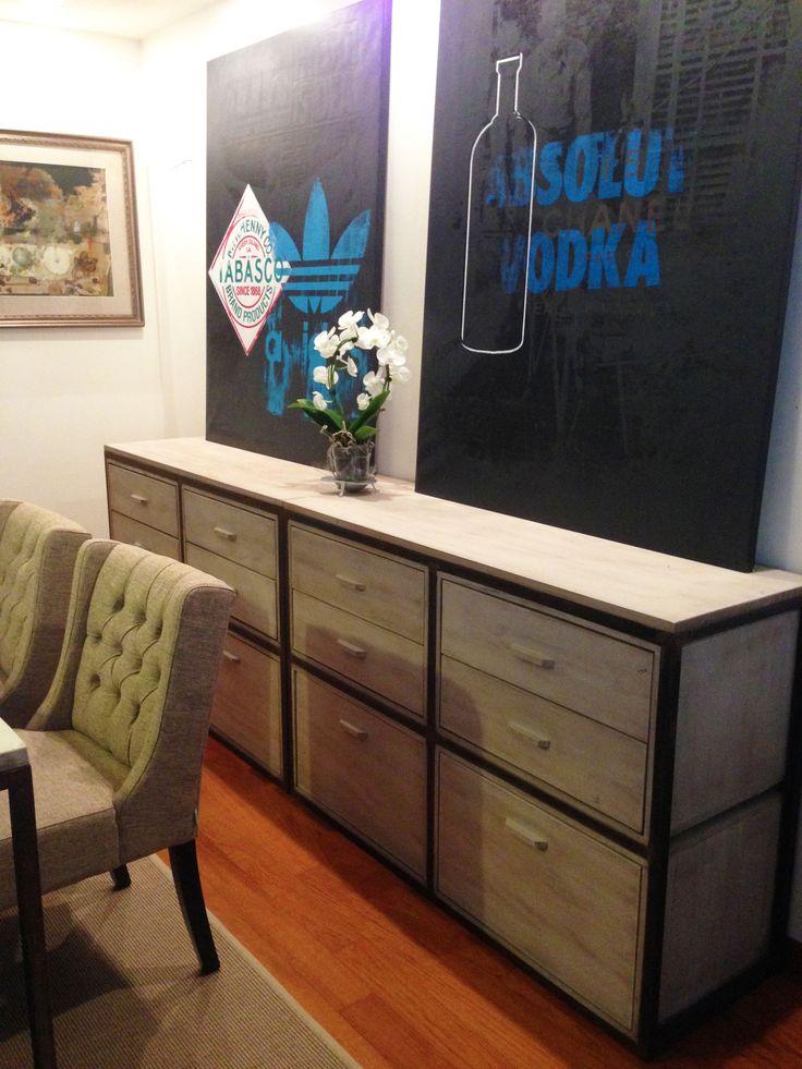 17 migliori idee su mobili in legno di recupero su pinterest tavoli in legno di recupero - Mobili in legno sbiancato ...