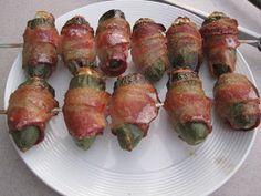 Holy Crap...: Smoked brisket-stuffed jalapeño poppers