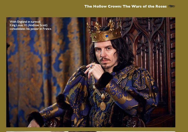 Andrew Scott as King Louis XI, Shakespeare magazine 10