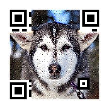 Good News!  FREE to Create Wechat / Line Qr Code with photo at  http://www.meftc.com/P/qrcode_free_profile.php   #dog #qr #digital #marketing