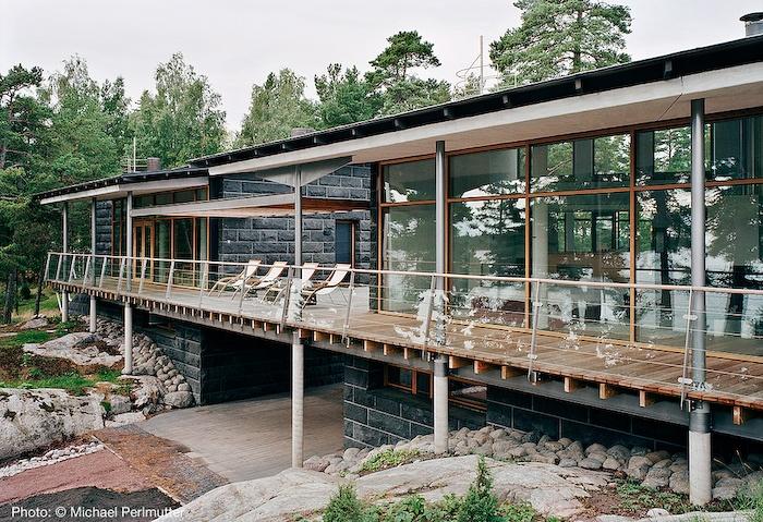 Villa Vetro, Terrace