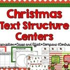 Christmas Text Structure Centers are all you need to make your reading lessons purposeful during the holiday season! It is jam packed with fun learning! Includes: ** 5 Christmas Around the World Passage cards and recording sheet. This would be great as an independent learning center or gallery walk. ** 3 Compare and Contrast Passages and Venn diagram recording form. **Compare and contrast, Cause and effect posters **12 Cause and Effect Sort Cards and sorting mat ** Cause and Effect Fan ...