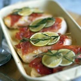 chicken and parma ham recipe