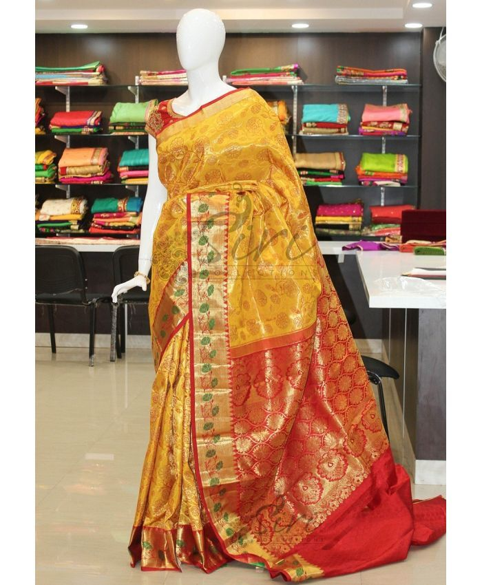 Buy Latest Model Pure Authentic Kanchipuram Silk Sarees From Siricollections.