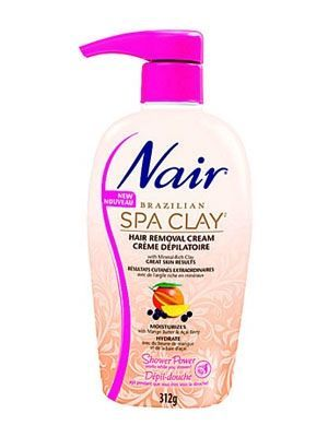 Nair Brazilian Spa Clay Hair Removal Cream
