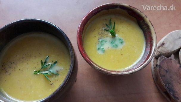 Krémová polievka z batátov