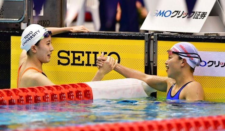 女子400m個メは大橋と清水/世界選手権内定者 #競泳