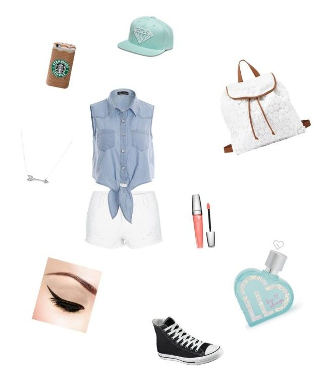 Untitled #1 by huntergirl19 on Polyvore featuring polyvore, fashion, style, Converse, Charlotte Russe, Adina Reyter, Lancôme and Aéropostale