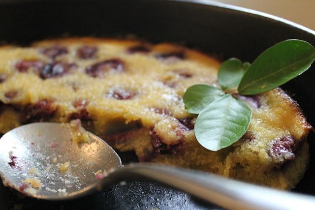 Cherry clafouti with almond flour | Almond Flour | Pinterest