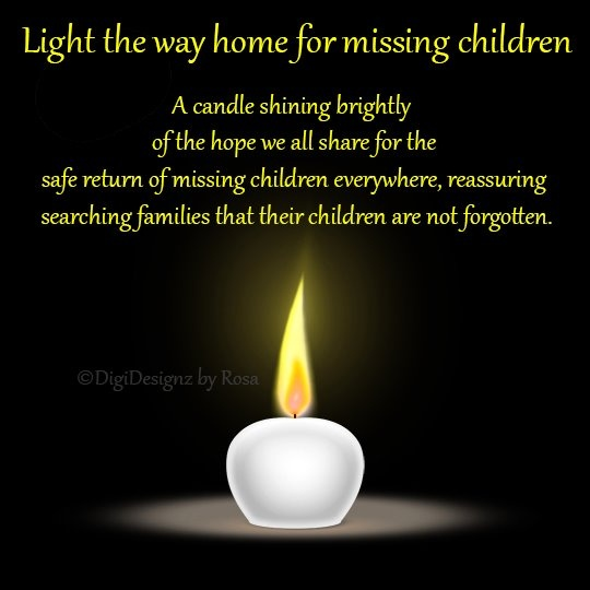 Light the way for missing children