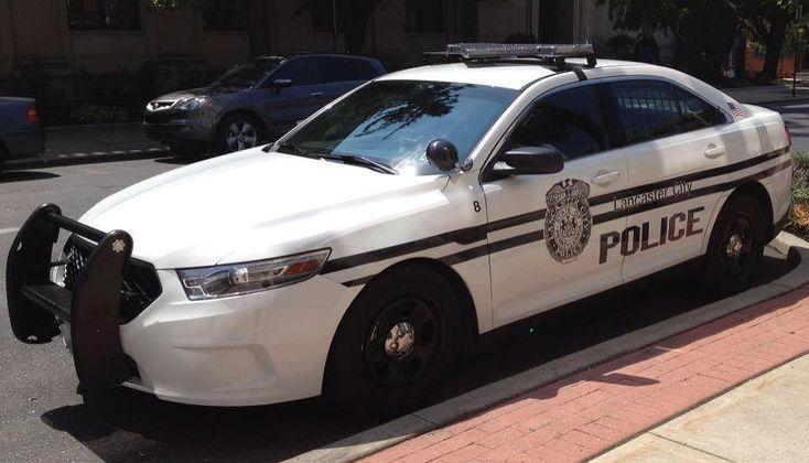 Lancaster County, Pennsylvania, Lancaster City Police Ford Interceptor sedan.