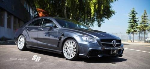 """""""Maximus"""": #Tuning-Kit für #Mercedes #CLS 63 #AMG  Stylingzubehör für das Mercedes-Oberklasse Coupé mit AMG DNA"""