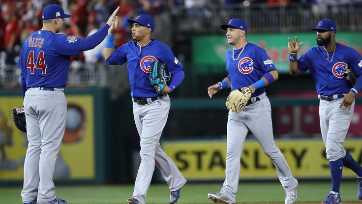 Los Cubs presentan su alineación con par de cambios
