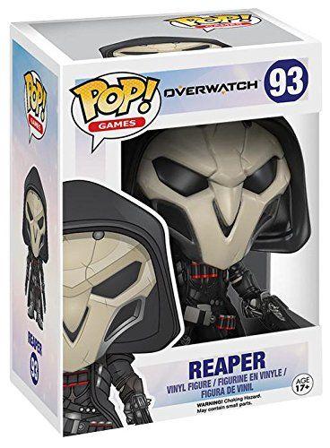 Overwatch Reaper Vinyl Figure 93 Figurine de collection: Overwatch Figurine de collection Reaper Vinyl Figure 93 pour Indifférent Standard…