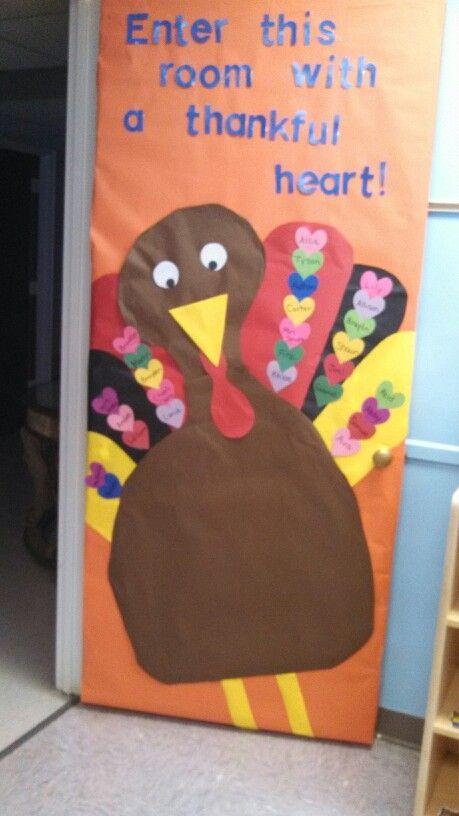 Classroom Door Ideas November ~ Ideas about preschool door on pinterest