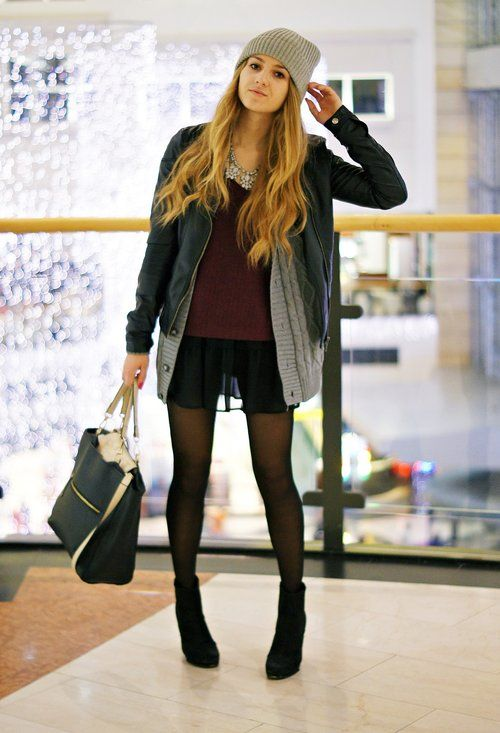 black suede boots outfits - photo #12
