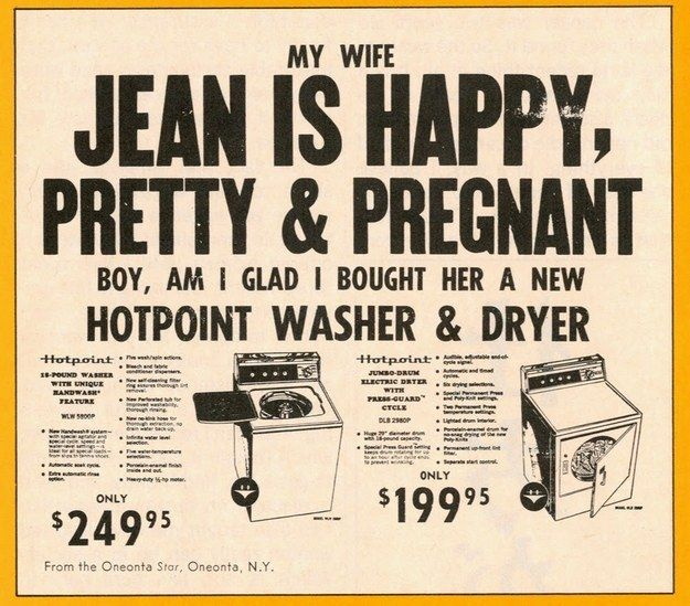 Happy, Pretty, And Pregnant! And her husband bought her a new washer and dryer! Now her happiness is complete!