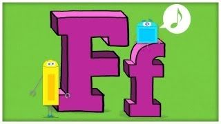 ABC Song - Letter F - F is Fun by StoryBots, via YouTube.