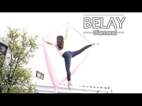 Aerial Silks: Belay Star - YouTube