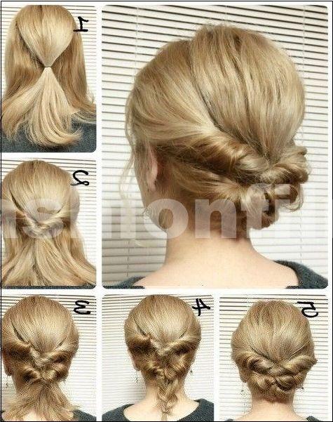 25 coiffures rapides pour cheveux mi-longs et longs ... - #cheveux #coiffures #longs #milongs #pour