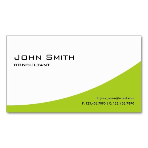 300 best automotive business card templates images by creative plain professional green elegant modern computer business card template wajeb Gallery