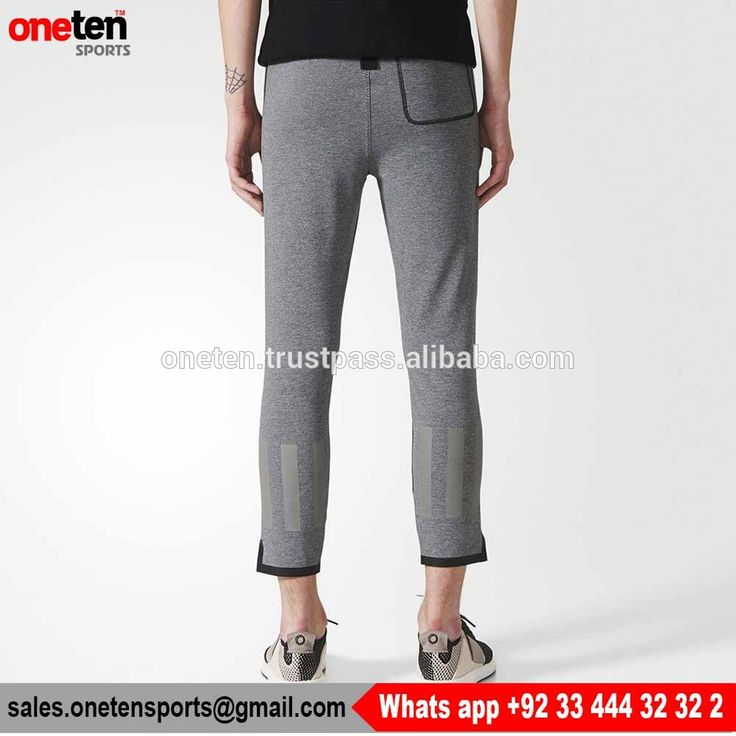 Grey Gym Tights for Men - Men Gym Wear