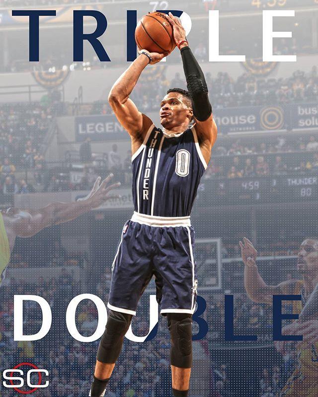 Mr. Triple Double!!!