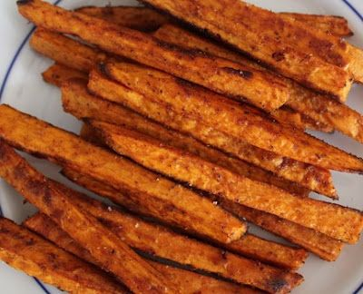 Oven-Baked Sweet Potato Fries | Side Dish | Pinterest