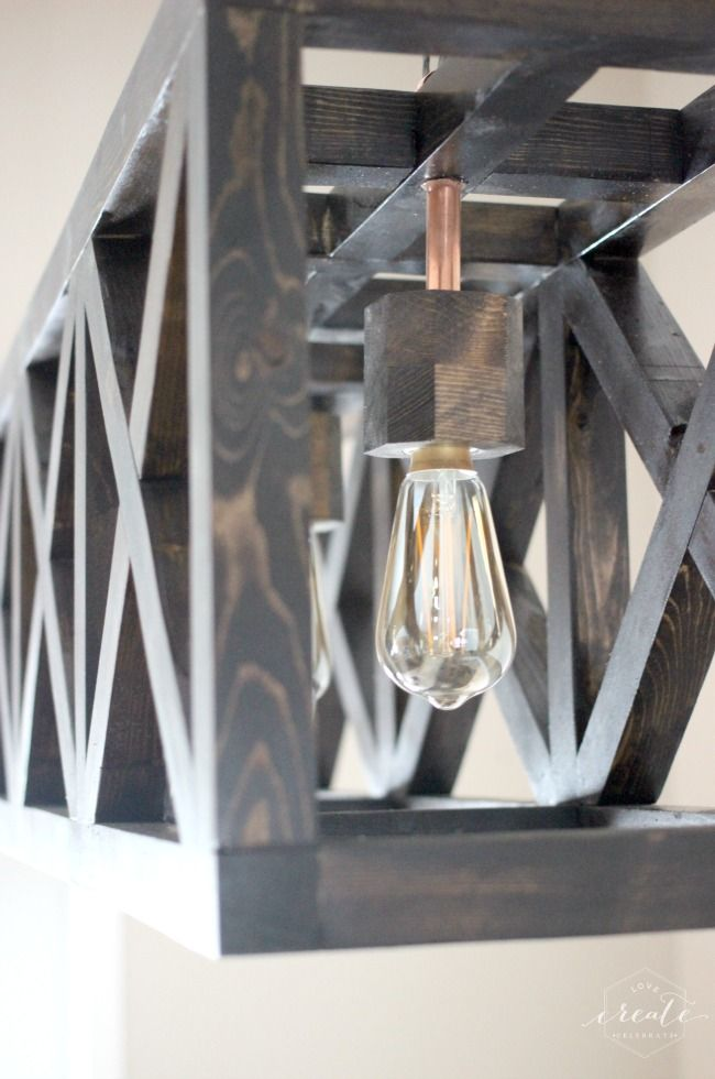 Industrial Pendant Light - Love Create Celebrate