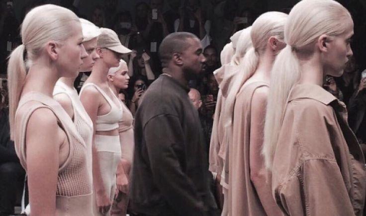 Asia Prus #fashion show #KanyeWest #NYCFashionWeek / #NYC
