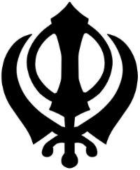 Khanda é o principal símbolo do Siquismo, religião monoteísta indiana. Presente na bandeira sagrada dos siques, que tem o nome de Nishan Sahib, o khanda tem o valor equivalente ao crucifixo para os cristãos, de modo que aparece erguido em todos os seus templos. O emblema da fé sique é formado por três elementos: uma espada de dois gumes ao centro e um chakra circular à volta dessa espada. Esse chakra é cercado por duas espadas de um gume. Esses elementos representam princípios fundamentais…
