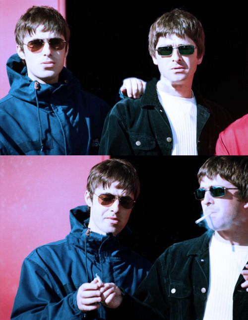Could I marry them both???? I don't know if I could stop myself from being a dork fan. Liam Gallagher & Noel Gallagher