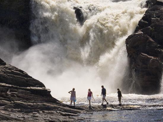 Levis Quebec | Levis, Canada: Parc des Chutes-de-la-Chaudière taken by P.Caron (Chaudiere Falls)