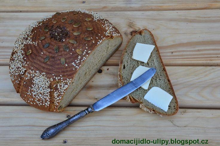Domácí jídlo U Lípy: Kváskový chléb se záparou