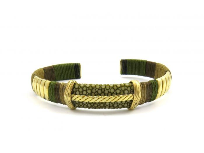 Barong Barong bracelet the bridge gold plated