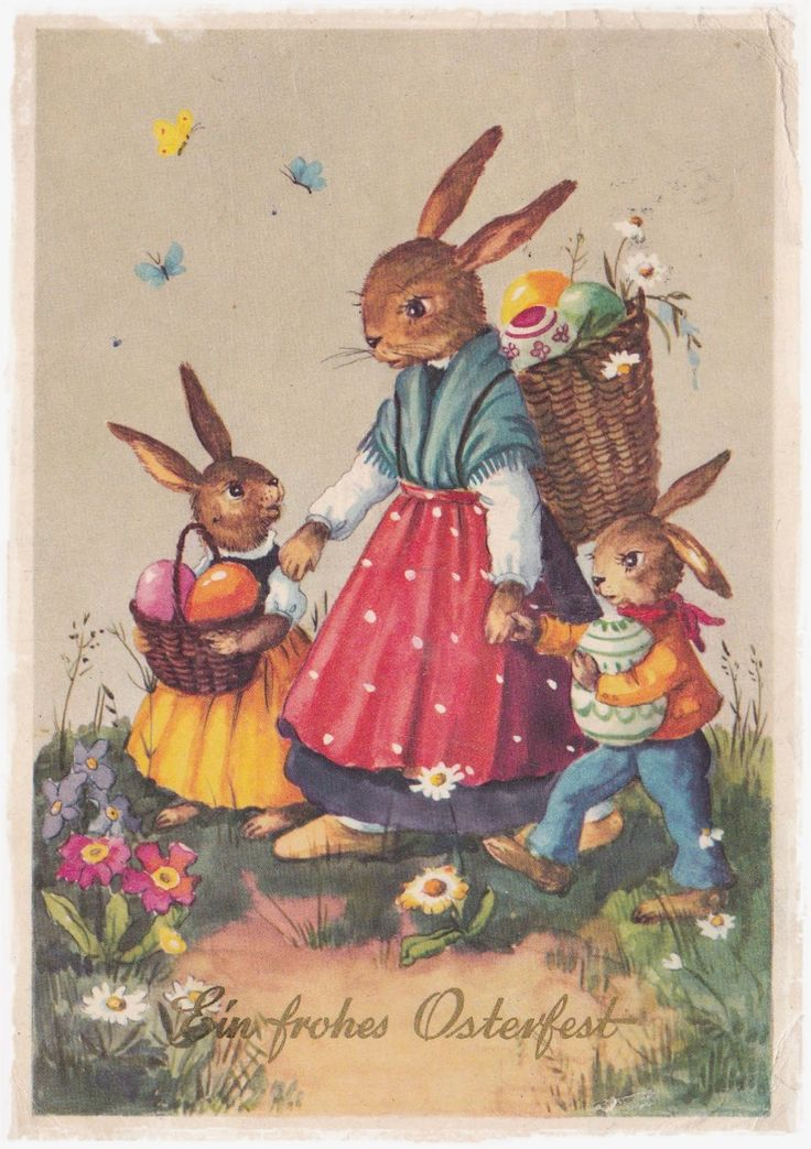 Vintage Graphics Ostern Frohe Ostern Ostern Frohe
