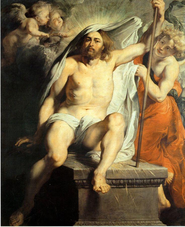 Cristo resucitado (1617), de Peter Paul Rubens, rebosa la fuerza y el dramatismo propios del Barroco