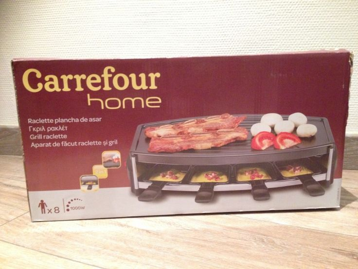 appareil a raclette carrefour barbecue electrique. Black Bedroom Furniture Sets. Home Design Ideas
