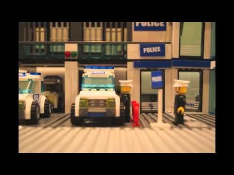 Lego Police Station Take Over - YouTube