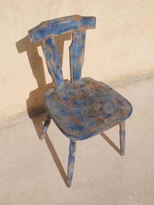 El Trastevere de Fran: Una paleta de color en una silla.