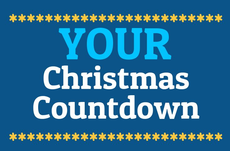Your Christmas Countdown 2014 | Days Until Christmas | Sleeps To Xmas