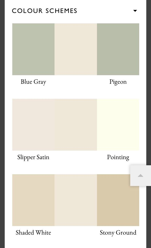 Farrow & Ball Clunch color schemes