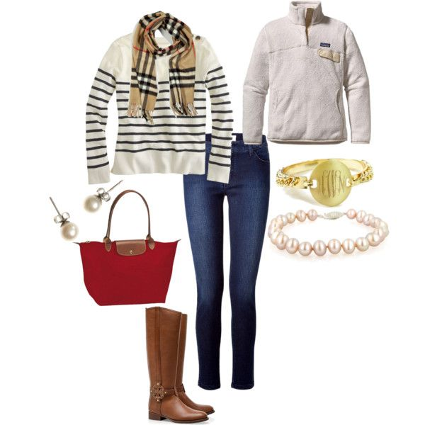 """New England Prep"" by palmbeach-prep on Polyvore"