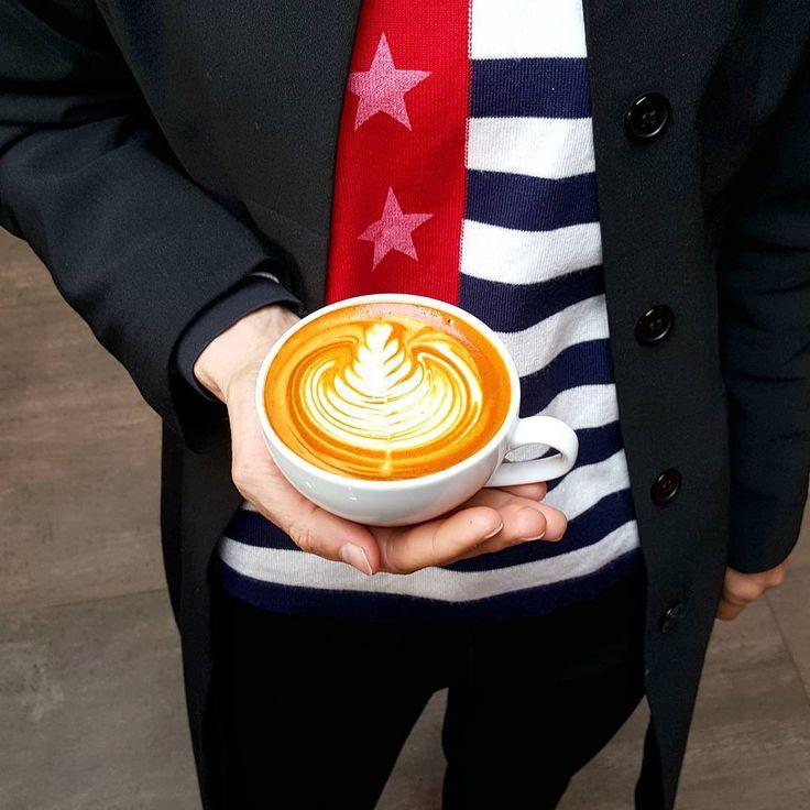 ✔ Monday check!  #redespresso #rooibosespresso #redcappuccino #rooiboscappuccino #latteart