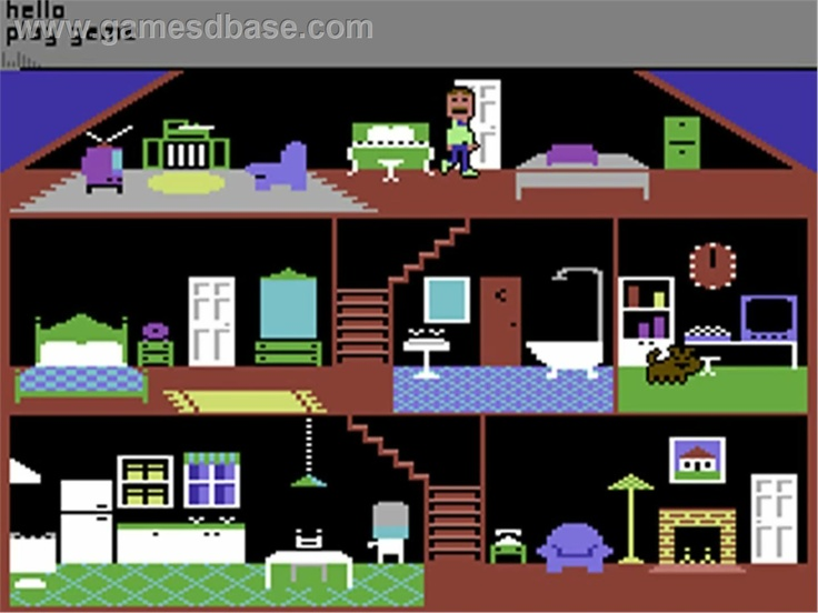 Little Computer People (Commodore 64)..
