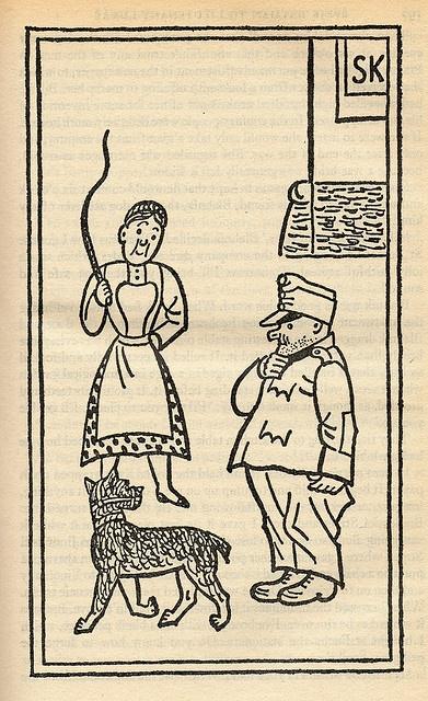 """Ilustrace """"Osudy dobrého vojáka Švejka"""""""