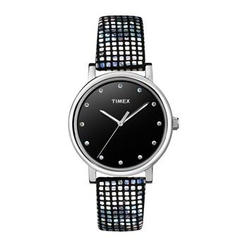 Montre Originals - Noir/Strass - Timex - Nouvelle Collection et ventes privées - Ref: 1494127 | Brandalley